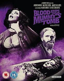 Blood From the Mummy's Tomb - Signed Blu-ray/DVD