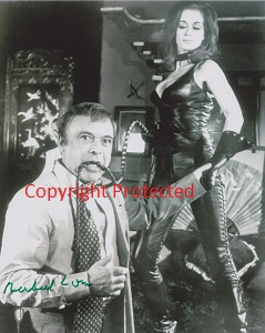 Valerie with Herbert Lom