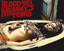 Blood From the Mummy's Tomb - Logo Sarcophagus